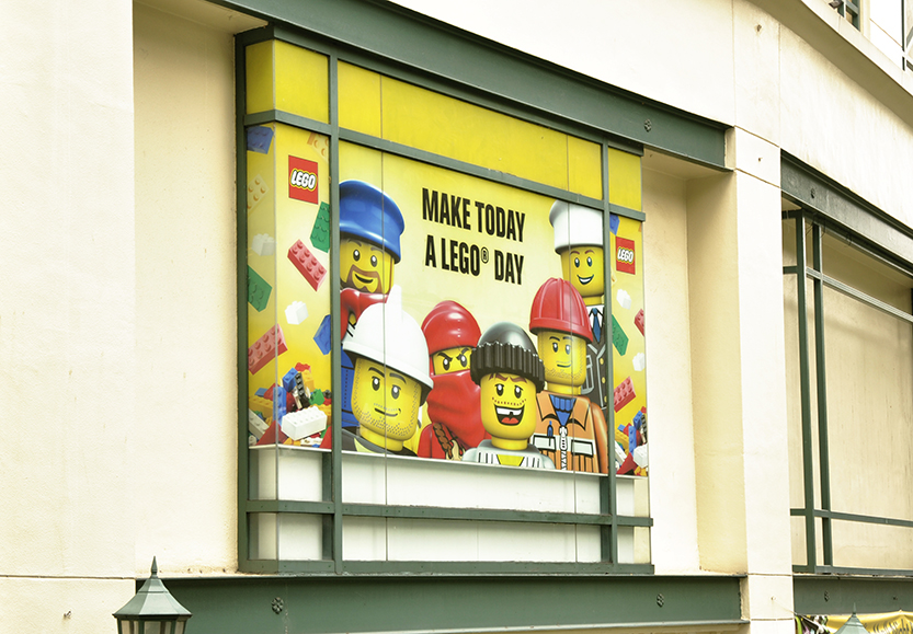 Lego window