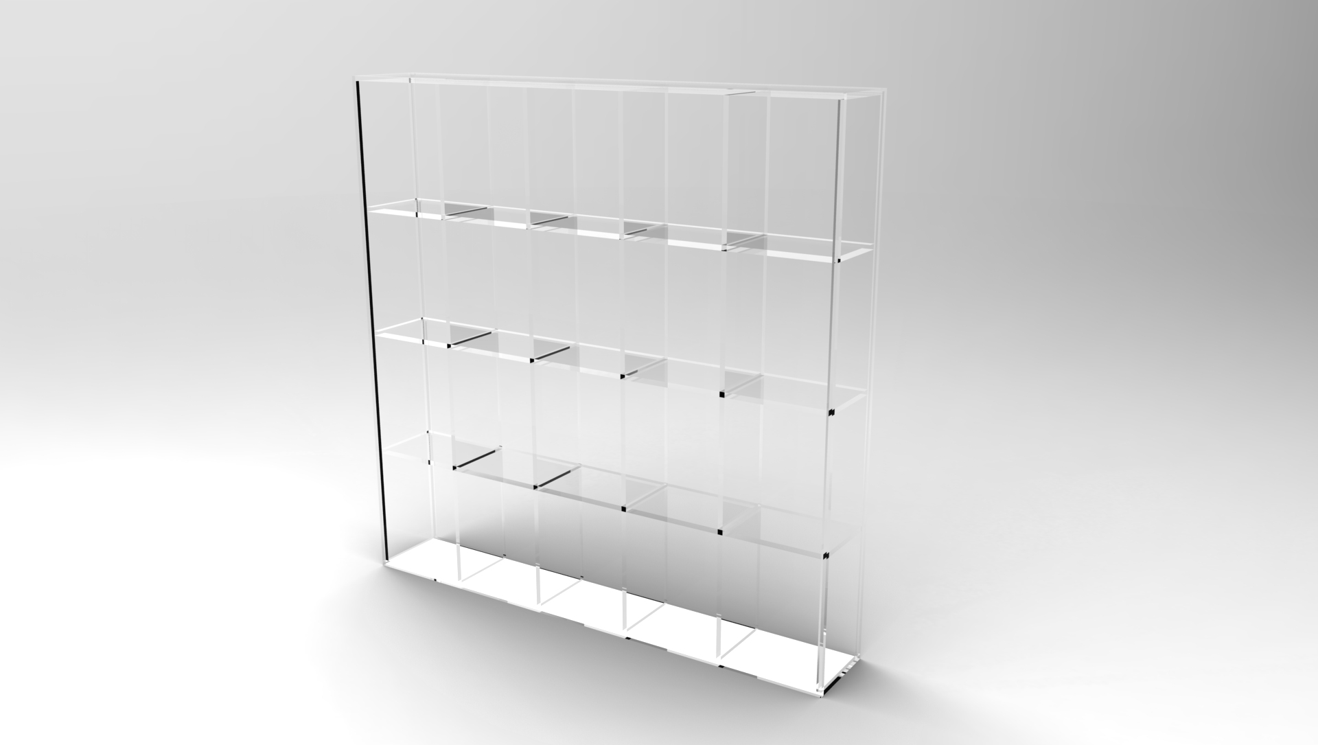 glass shelf home overstock product and classy metal bookcase free acrylic garden high today inches benzara studio tier shipping wide