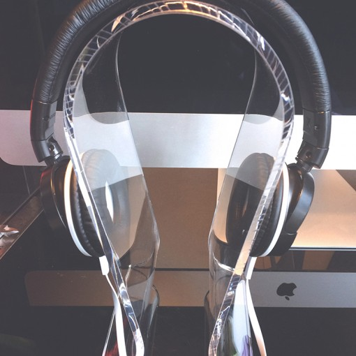 Omega Acrylic Headset Stand