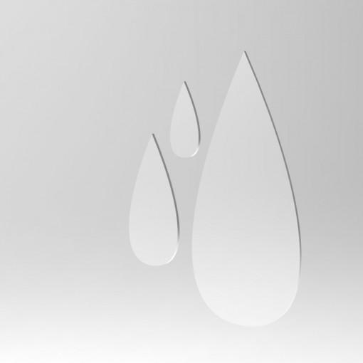 Acrylic Mirror Drops by Chezrich.3