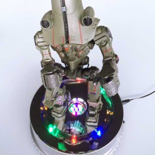 Turntable with LED light B