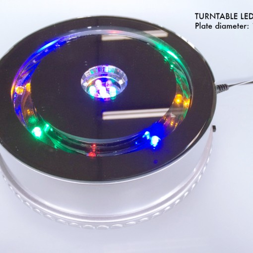 Turntable with LED light B.1