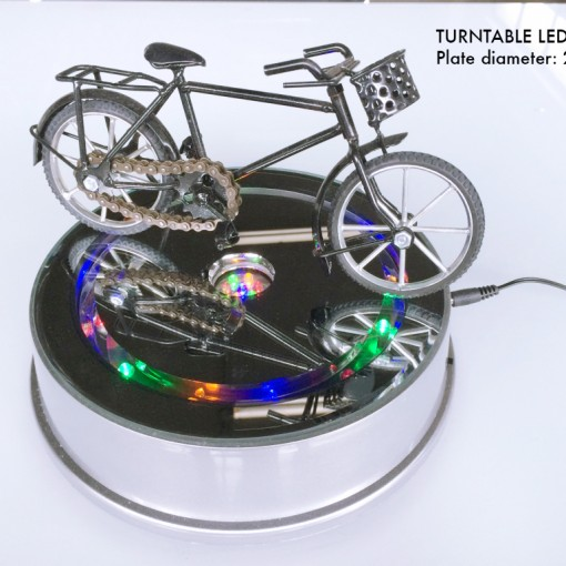 Turntable with LED light C