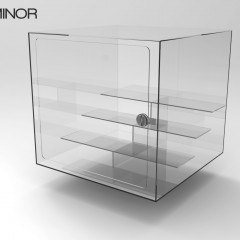Acrylic Display Instituo Minor 1 with fixed Risers